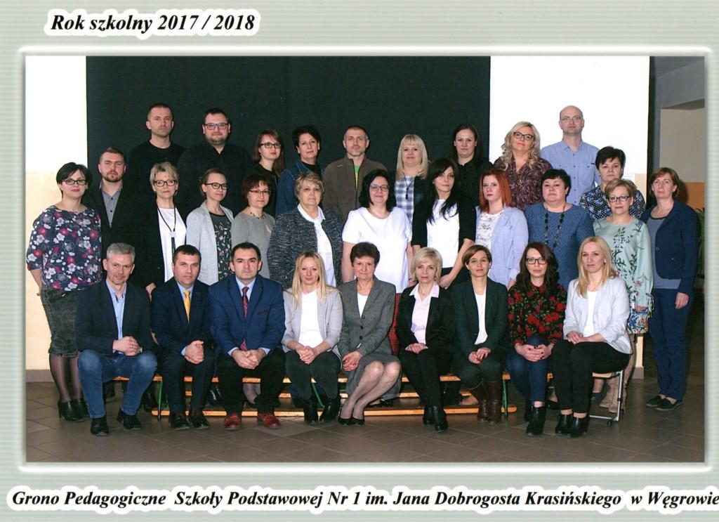 Grono pedagogiczne 2017-18
