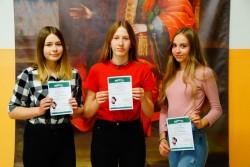 3 English Ace 2018 Gimnazjum - Lokata 2 - Natalia Mućk, lokata 3 - Wioleta Ignaciuk, Zuzanna Jagodzińska