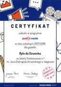 certyfikat-junior media